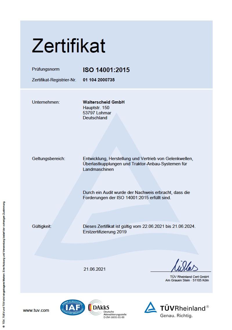 DIN ISO 14001:2015