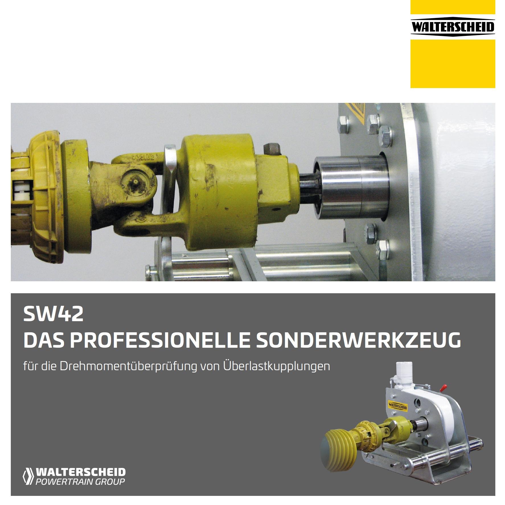Walterscheid Sonderwerkzeug SW42