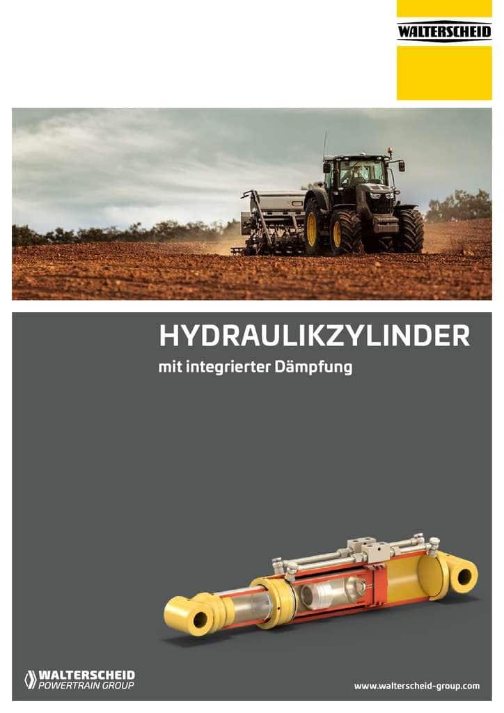 Walterscheid Broschüre Hydraulikzylinder