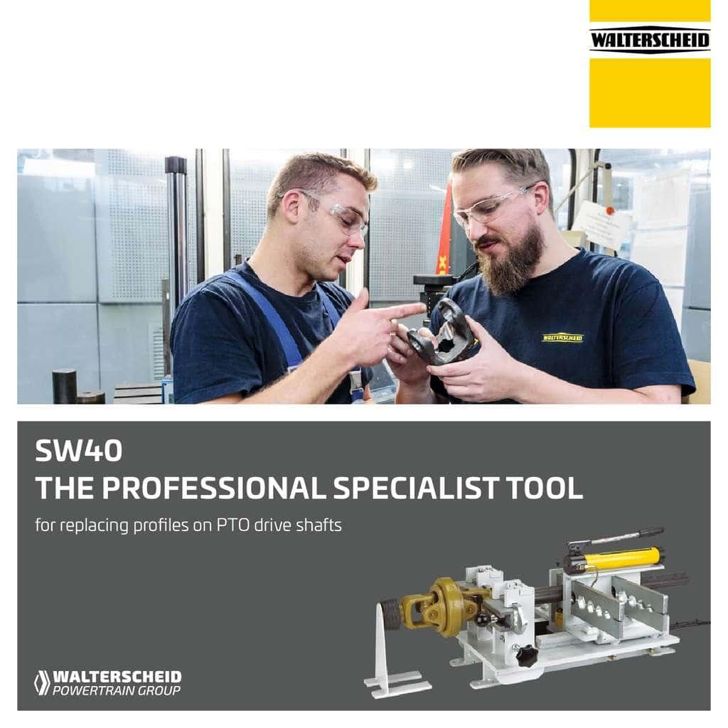 Walterscheid Specialist tool SW40