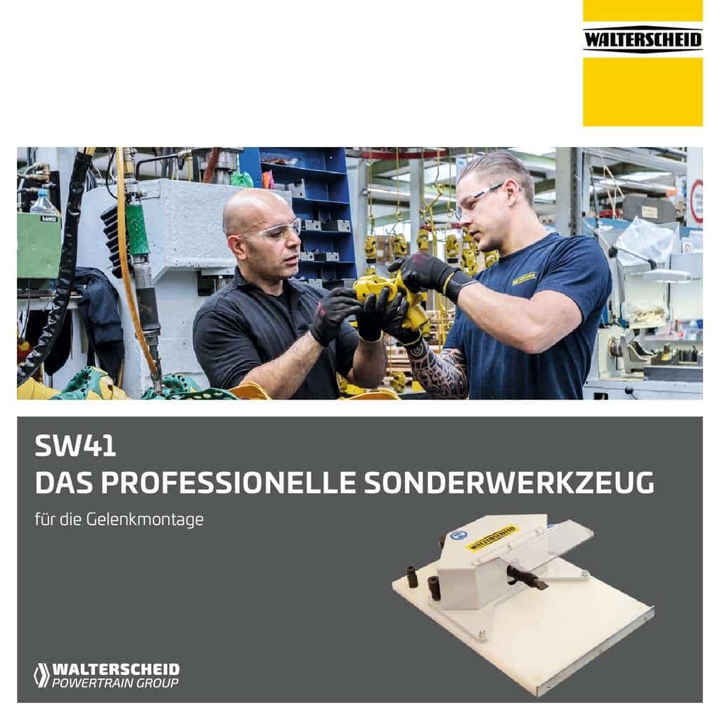 Walterscheid Sonderwerkzeug SW41
