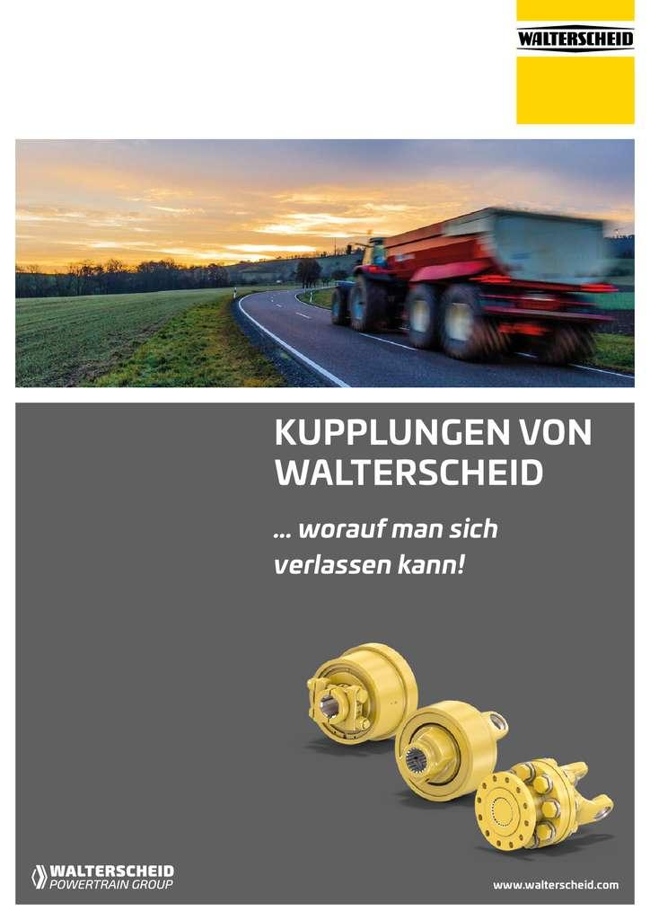 Walterscheid Broschüre Kupplungen