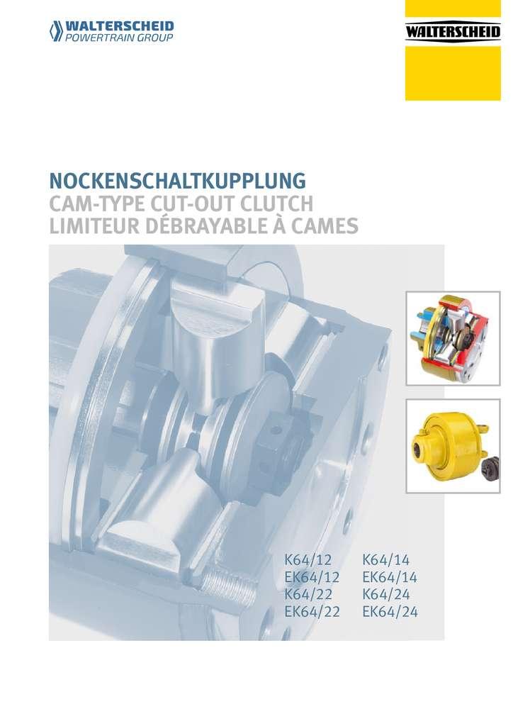 Walterscheid Cam-type cut-out clutch