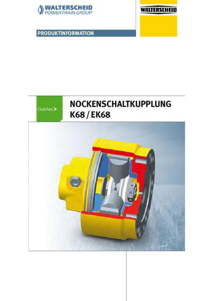 Walterscheid Nockenschaltkupplung K68/EK68