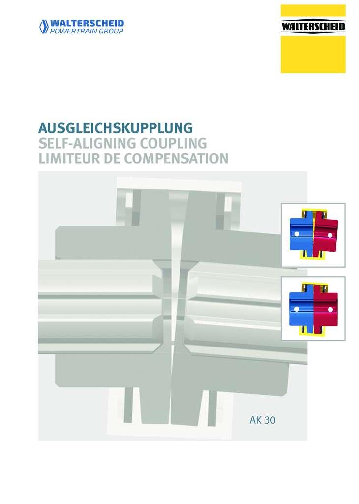 Walterscheid Self-aligning coupling