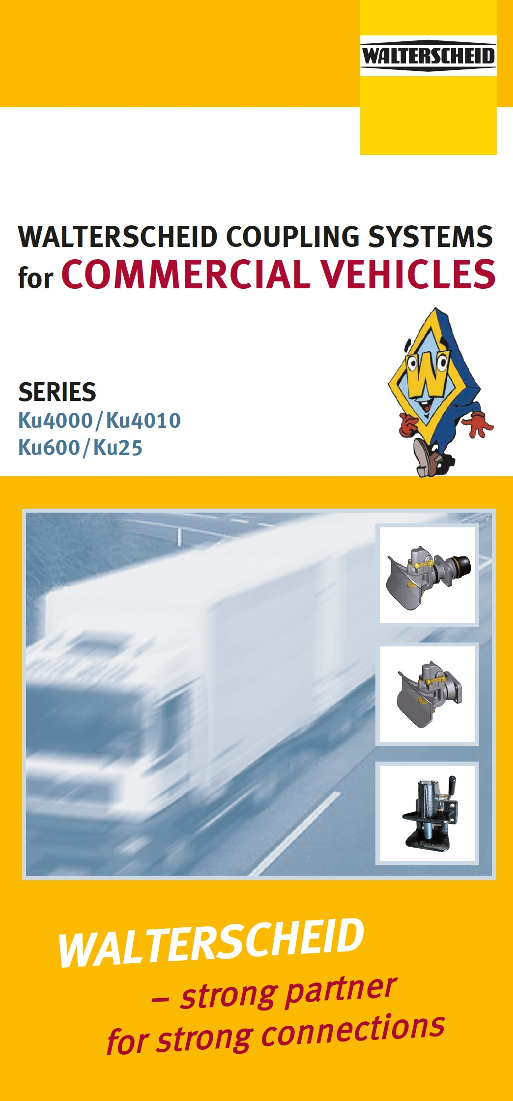 Walterscheid Flyer Coupling Systems for commercial vehicles