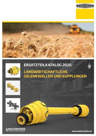 Walterscheid Katalog Gelenkwellen und Ersatzteile –  DE